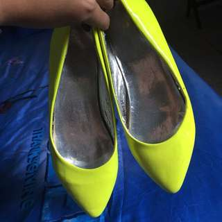 Neon Doll Shoes