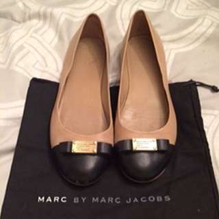 Marc By Marc Jacobs Classic Logo Plaque Flats