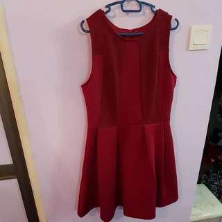Red Kitschen Dress