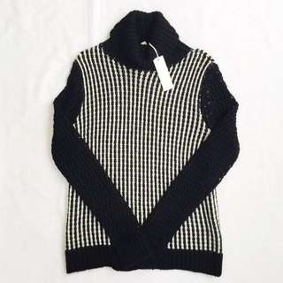 🌟SPECIAL OFFER 🌟SHAE Stripe Polo Neck Jumper