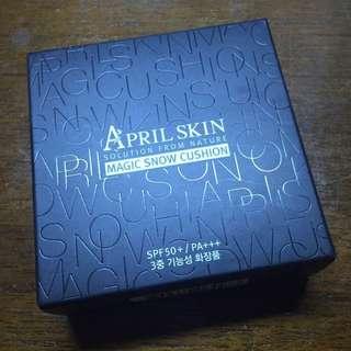 April Skin氣墊粉餅全新