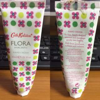 Cath Kidston Flora Hyacinth Hand Cream