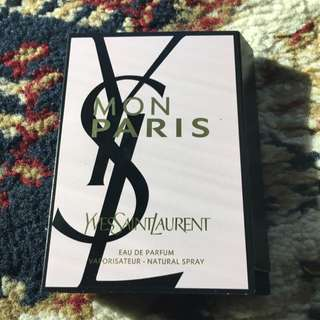 Ysl Yves Saint Lauren Mon Paris Perfume 1.2ml