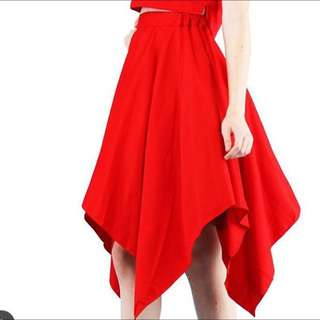 NEW red Skirt Premium Quality