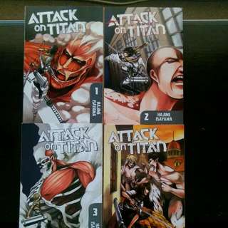 Attack On Titan Manga