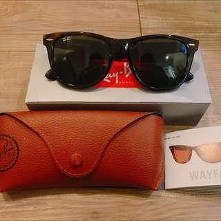 Ray Ban 雷朋太陽眼鏡 wayfarer 琥珀色