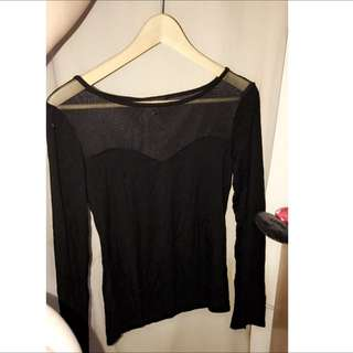 Black Sweetheart Top