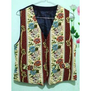 Vintage Flowery Vest
