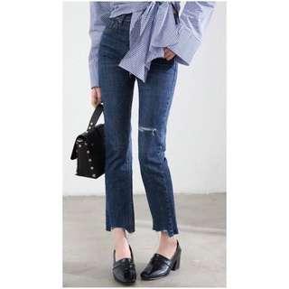 Zara inspired Ripped Jeans Brand New