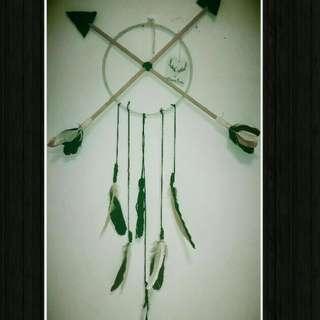 Cross Feather Dreamcatcher