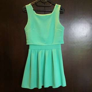 Mini Mint Dress