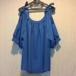 Blue Basic Ribbon
