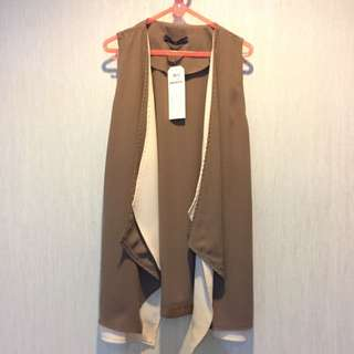 Brown Basic Vest