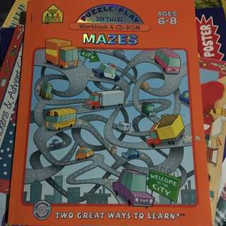 Mazes - Workbook/CD Rom