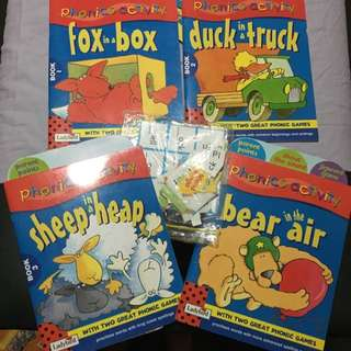 Phonics Activity Books 1-4