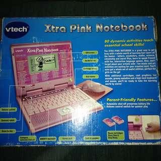 Vtech Xtra Pink Notebook