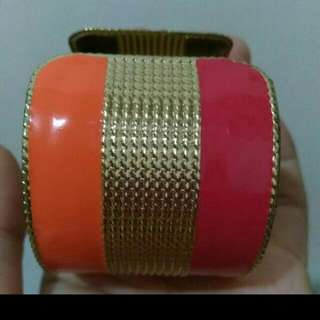 The Executive Red & Gold Bangle