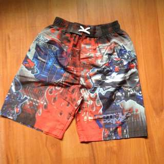 Boardshorts Transformers Size Small