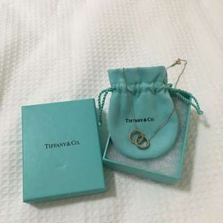 Tiffany&Co. Double Ring Necklacd