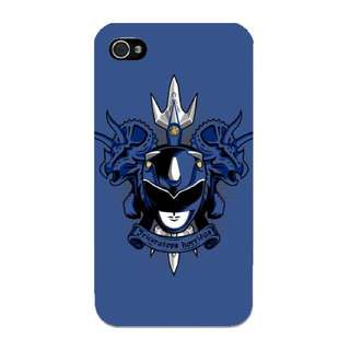 Badass Blue Power Ranger Phone Case