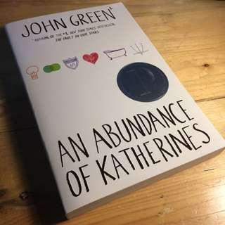 [PRELOVED] AN ABUNDANCE OF KATHERINES by John Green