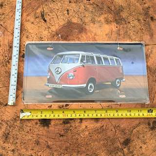 Volkswagen Kombi Plaque