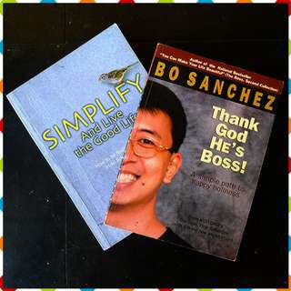 Self Help Bundle - Bo Sanchez + Stress Therapy