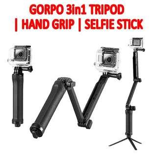 TGP008 3-Way Adjustable Hand Grip | Selfie Stick |  Tripod (TGP008)