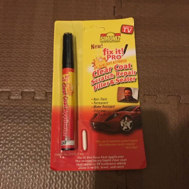 網路上廣告打很大的烤漆筆