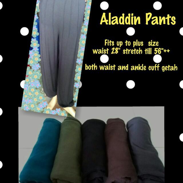 45b7de43e Aladdin Pants Fits Up To Plus Size
