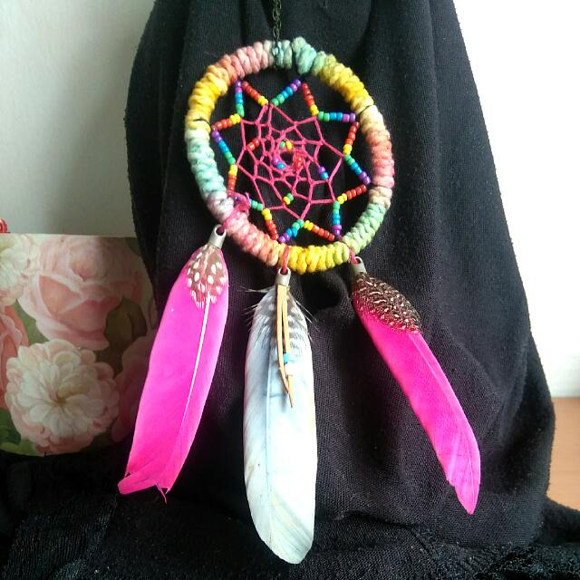 #AllForFree Lonjong Rainbow Dreamcatcher