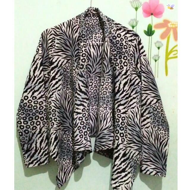 Animal Printed Blazer