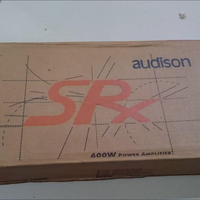 audison srx 2 channel