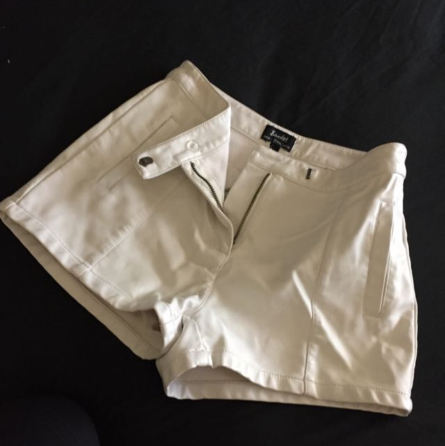 Bardot White Shorts
