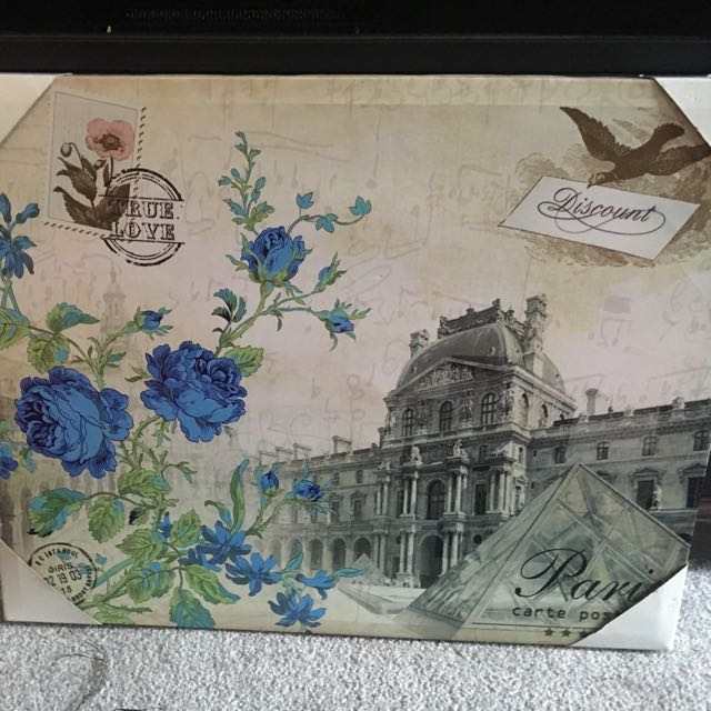 Beautiful New Canvas Print Wall Art Vintage Piece
