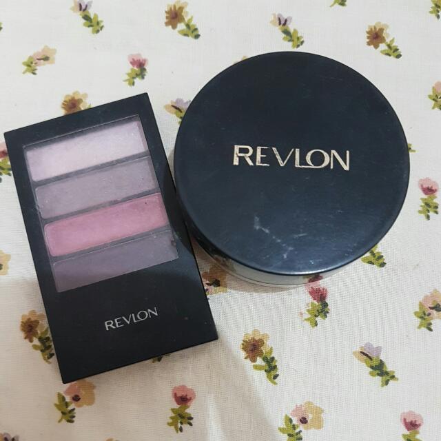Bedak Dan Eye Shadow Revlon