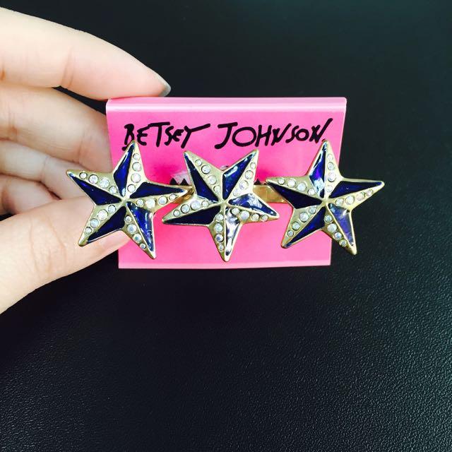 BETSEY JOHNSON星星戒指
