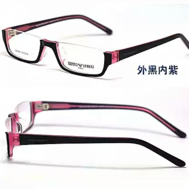 Bottom Half Rimmed Glasses for Fashion & Anime (Brand New With Case ...