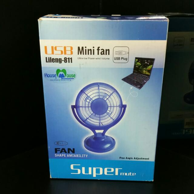 Brand New USB Fan 70% Off Retail Price