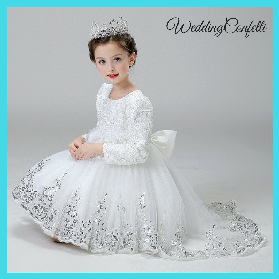 d1366fdc2950 Brand New* Wedding White / Pink / Red Baby / Infant Flower Girl ...