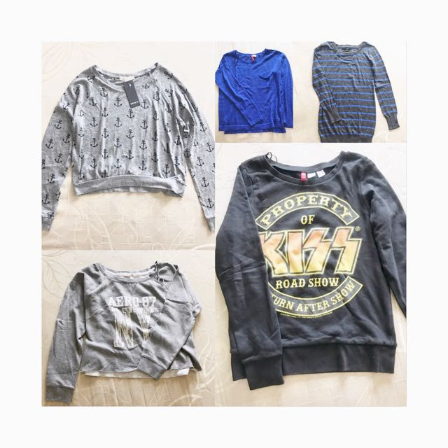 branded sweaters bundle! (take all for 1200)