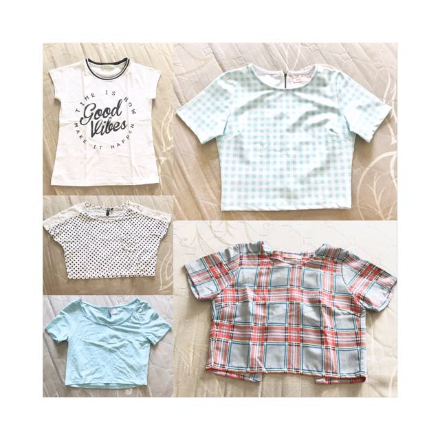 branded top bundle! take all for 800