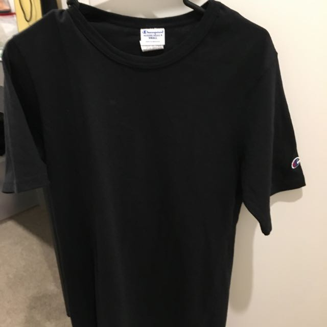 Champion Heritage Heavyweight Tee (Black S Size)