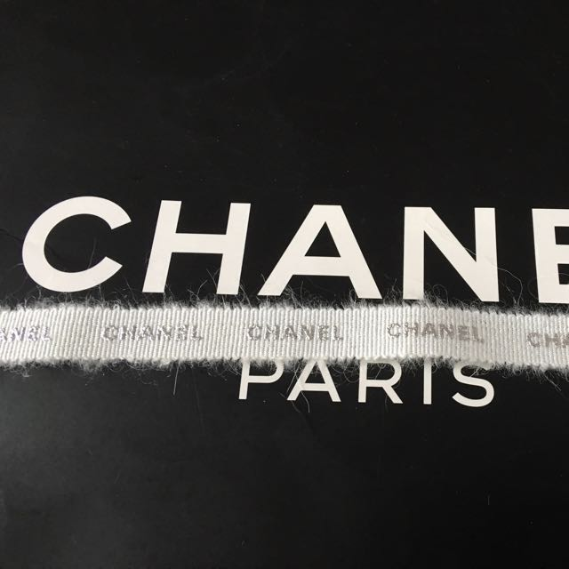 Chanel冬季限定緞帶