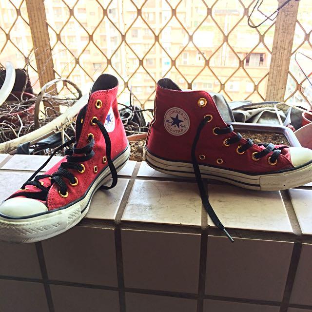 Converse日本限量絕版高筒帆布鞋 All Star