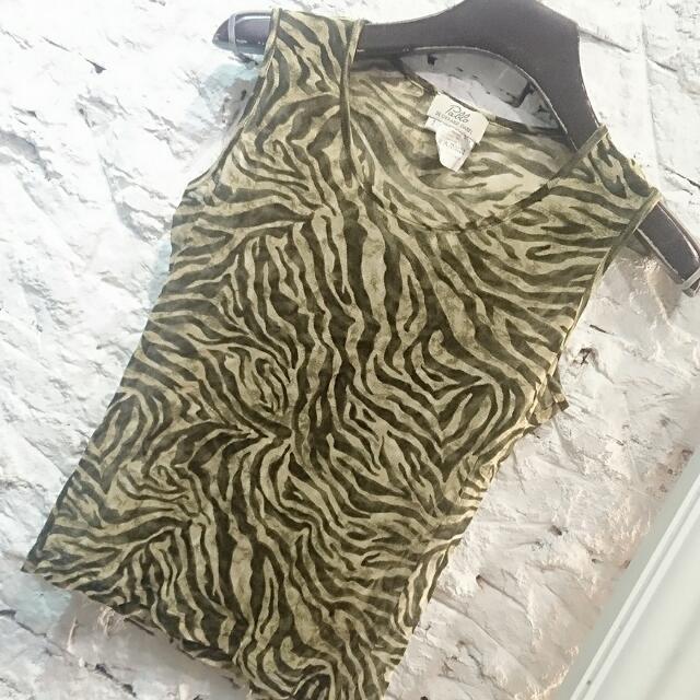 DERARD DAREL豹紋時尚小背心
