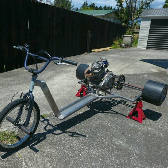 DR200 5 Speed Drift Trike