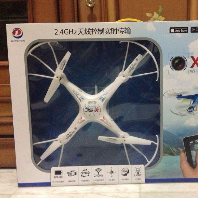 Drone X-5SW Warna Putih Ada Kamera