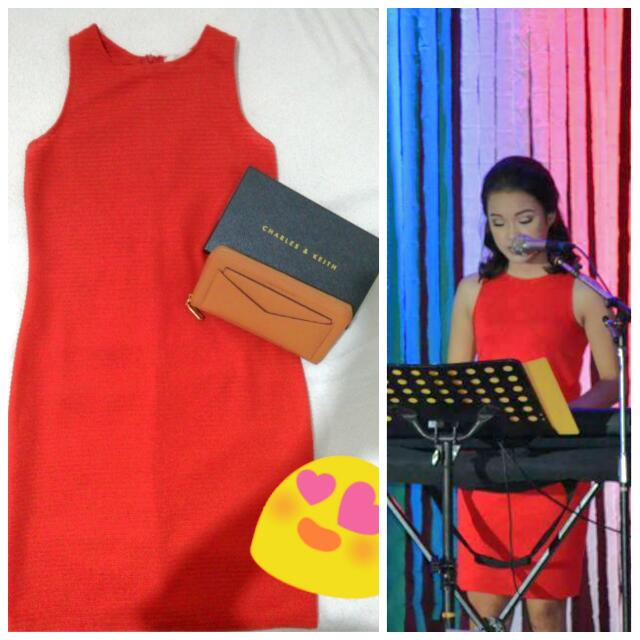 GTW Casual Red Dress