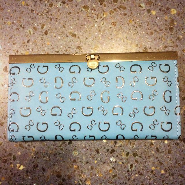 Guess Imitation Blue Wallet